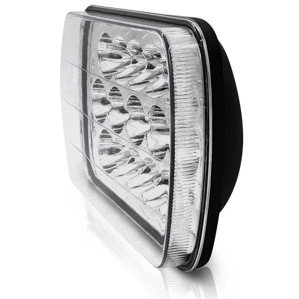 PAR FAROIS MILHA 15 LEDS 5X7 45W