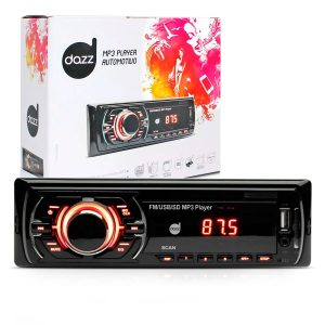 Rádio MP3 automotivo Dazz Dz-52240 USB e SD