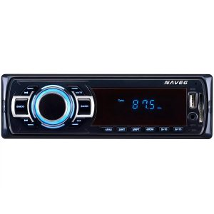 Rádio automotivo MP3 Player FM USB e SD