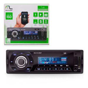 MP3 player + bluetooth Multilaser talk MP3, Rádio FM e USB