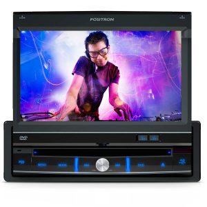 "DVD Player Automotivo Pósitron SP 6300AV Tela 7"" e USB"