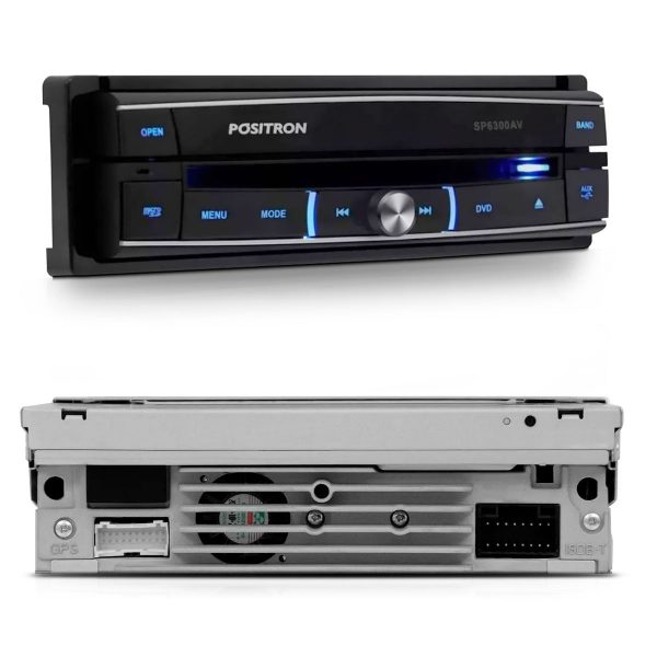 DVD Player Automotivo Pósitron SP 6300AV