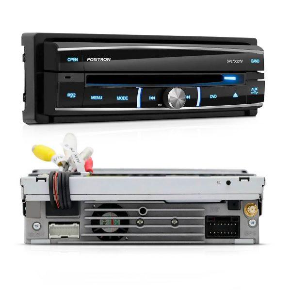 DVD Pósitron player retrátil SP6700DTV