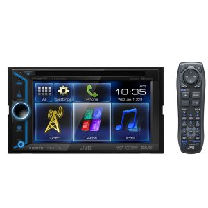 Dvd Player Multimídia Jvc Kw - V30bt 6,1 Touchscreen Cd Dvd Usb Bluetooth
