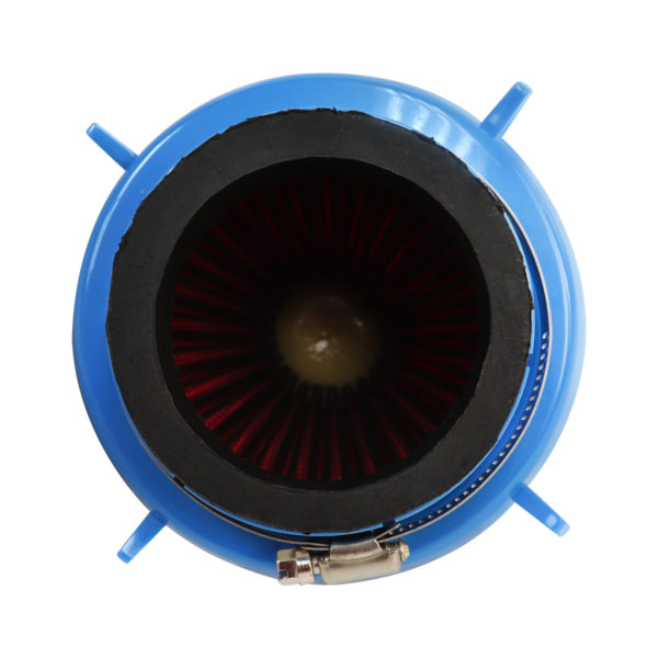 Filtro De Ar Torpedo Duplo Fluxo Esportivo - Azul