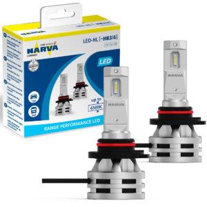 Lâmpada led HB3 e HB4