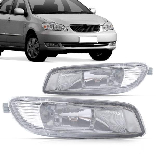 Farol de milha auxiliar Toyota Corolla 2005 a 2007